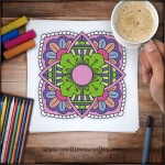 Mandala Monday 37 Free Colouring Sheet To Download