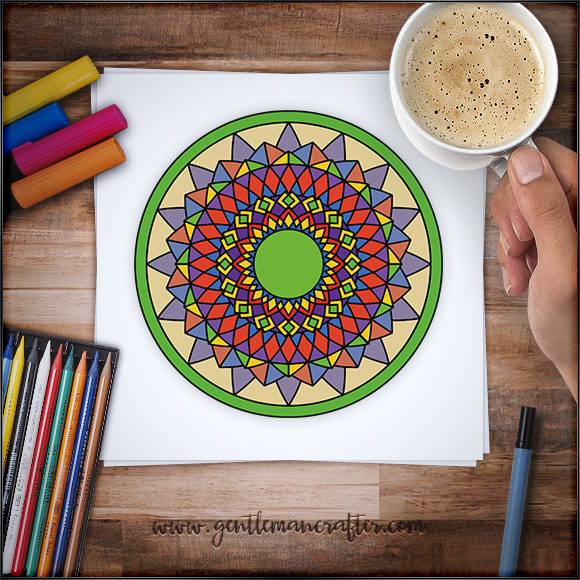 Mandala Monday 38 Free Design To Download And Colour In