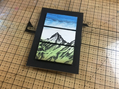GCTV5 Stampscapes Tiled Window Scene with John Bloodworth - Gentleman Crafter