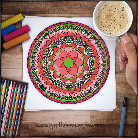 Mandala Monday 39 Free Download To Colour In
