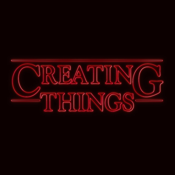 Creating Things Stranger Things T Shirt John Bloodworth Gentleman Crafter