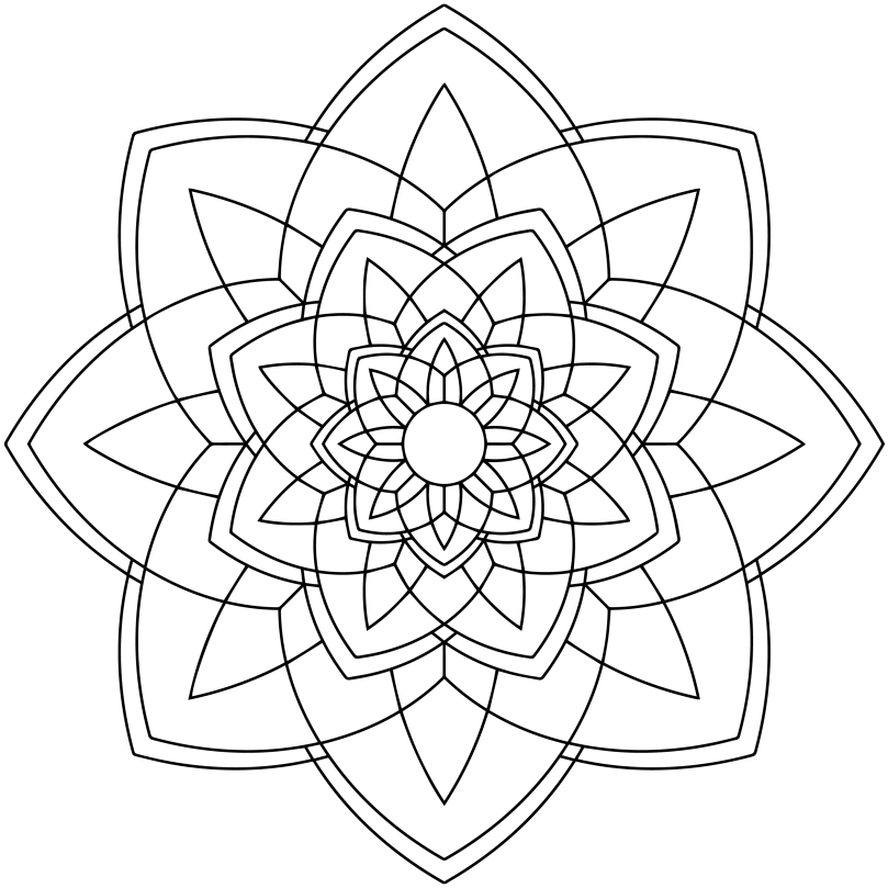 Mandala Monday 41 Free Download For You To Colour In