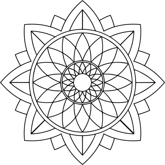 Mandala Monday 42 Free Download To Colour In