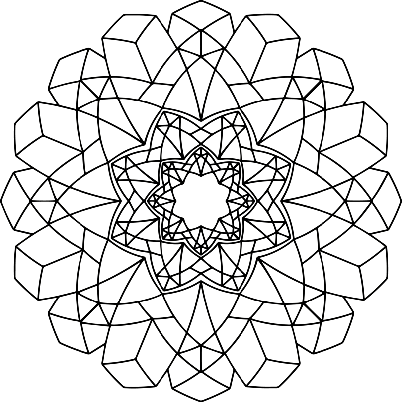 Mandala Monday 43 Free Download To Colour In