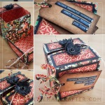 Create A Clamshell Style Keepsake Treasure Box With Graphic 45 Paper