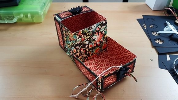 Create A Clamshell Style Memory Box From Scratch With Graphic 45 Paper (18)