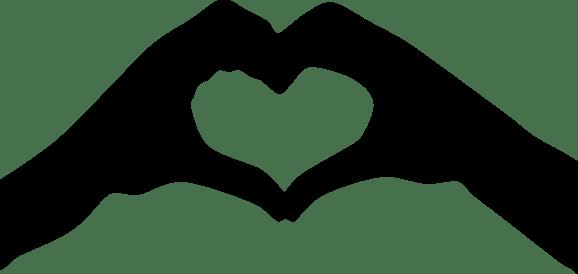 Heart-Hands-Silhouette