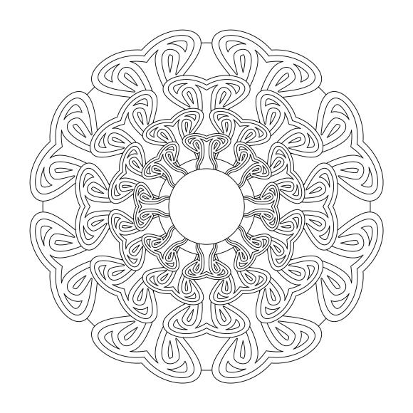 Mandala Monday 44 Free Download To Colour In