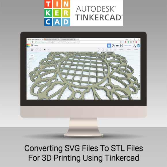 Converting SVG Files to STL Files for 3D Printing Blog