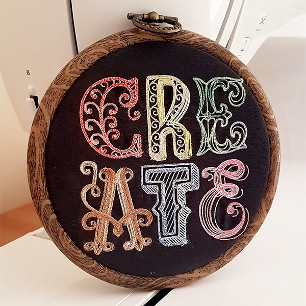 Create Machine Embroidery