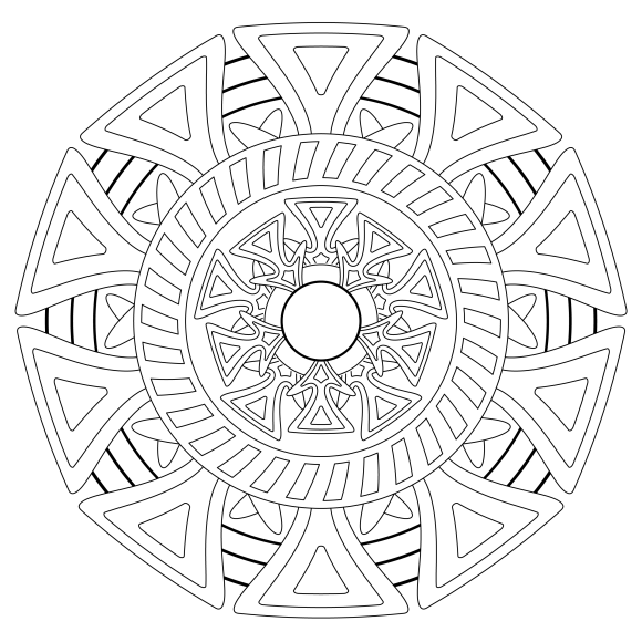 Mandala Monday 46 Free Download To Colour In