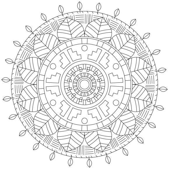 Mandala Monday 50 Free Download To Colour In