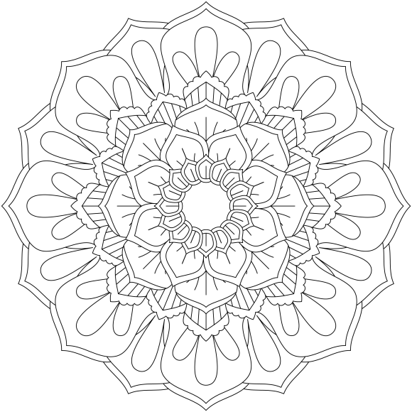 Mandala Monday 52 Free Download To Colour In