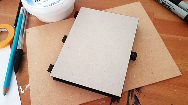 Hinged Photo Frame MDF Kit (6)
