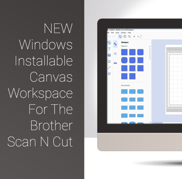 New Scan N Cut Windows Installable Canvas Workspace 2
