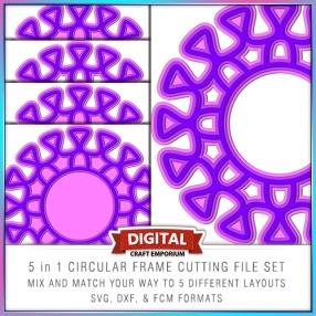 5in1 Circular Frame FOUR