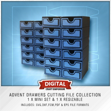 Advent Drawers Preview