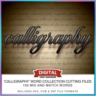 Calligrahpy Word Collection Preview