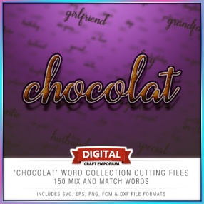 Chocolat Word Collection Preview