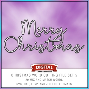 Christmas Word Pack 5