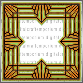 dce_art_deco_style_square_frame_svg_cutting_file_3_preview