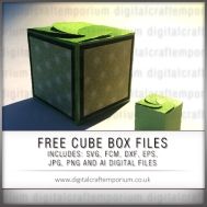 FREE CUBE BOX PREVIEW