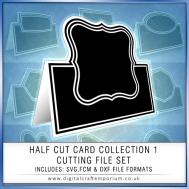 Half Cut Card Preview