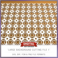 Large Background Cutting File 1 - Preview