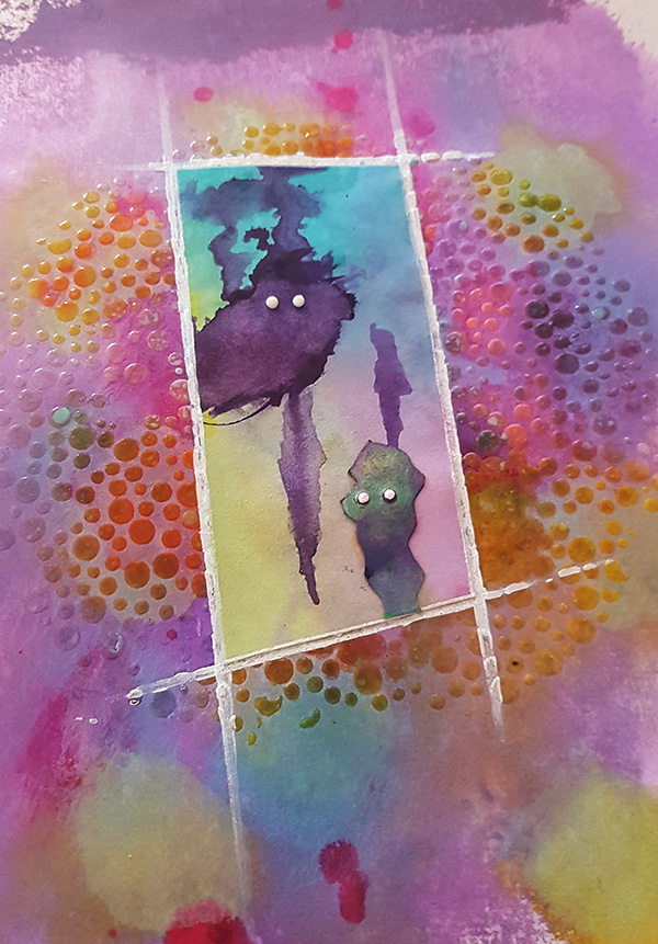 Meet The Funkettes Mixed Media Page by John Bloodworth Gentleman Crafter (10)