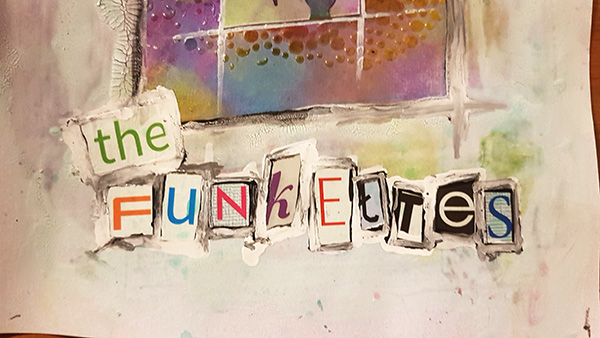 Meet The Funkettes Mixed Media Page by John Bloodworth Gentleman Crafter (21)