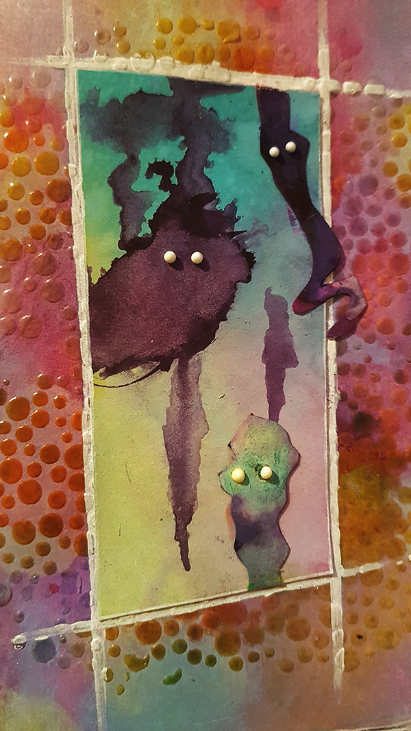 Meet The Funkettes Mixed Media Page by John Bloodworth Gentleman Crafter (23)