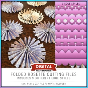 Rosette Cutting File Set Preview
