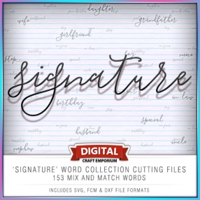 Signature Word Collection Preview