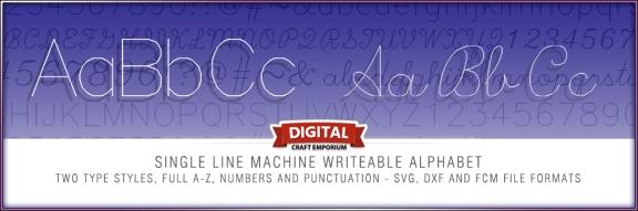 Single Line Font Slider Preview
