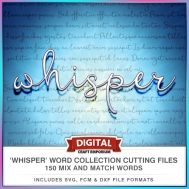 Whisper Word Collection Preview