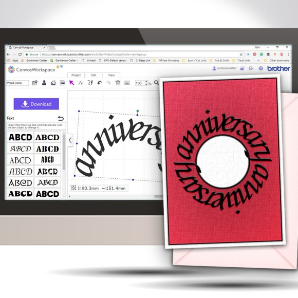 Creating Text On A Circular Path In Canvas Workspace GC