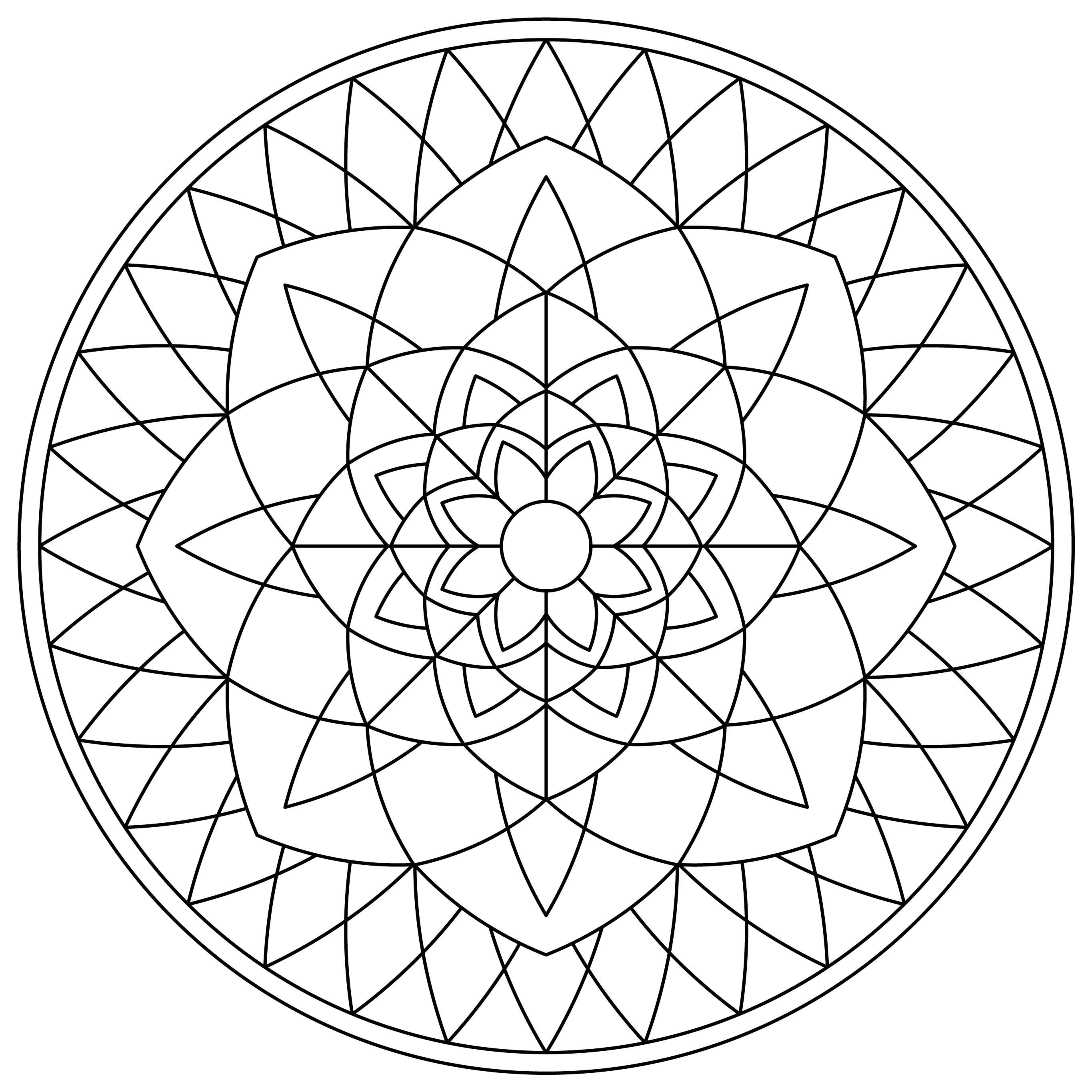 Mandala Monday 58 Free Download To Colour In (1)