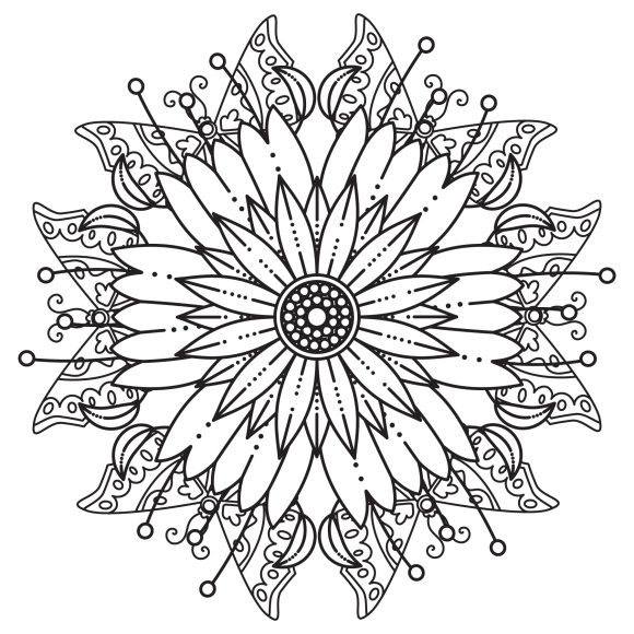 Mandala Monday 59 Free Download To Colour In (2)
