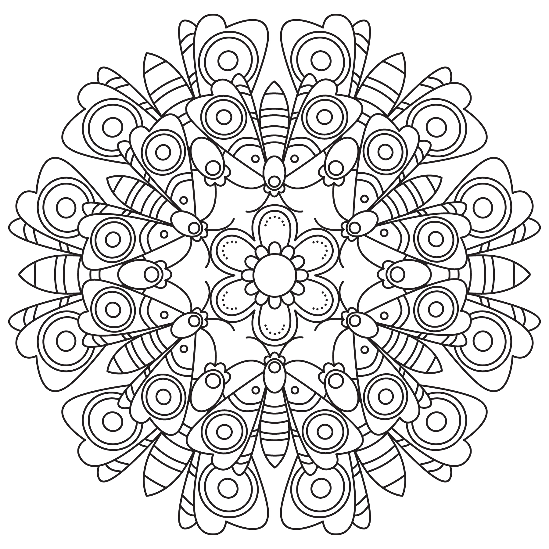 Mandala Monday 60 Free Download To Colour In (2)
