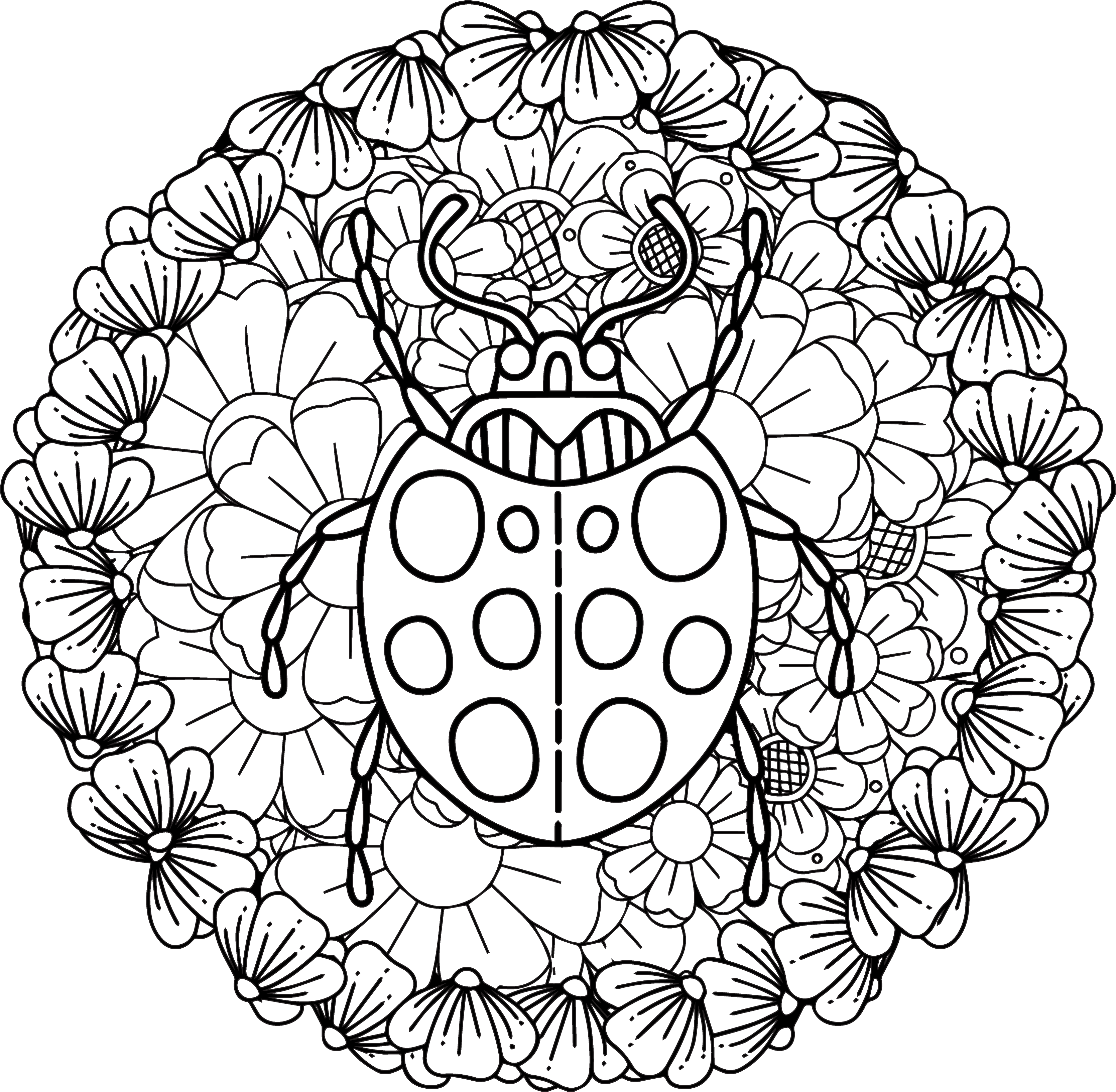 Mandala Monday 61 Free Download To Colour In 2