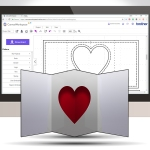 Creating A Simple Pop Out Greetings Card Insert In Canvas Workspace Online For The Brother Scan N Cut
