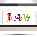 Creating Interlinked Lettering In Canvas Workspace GC