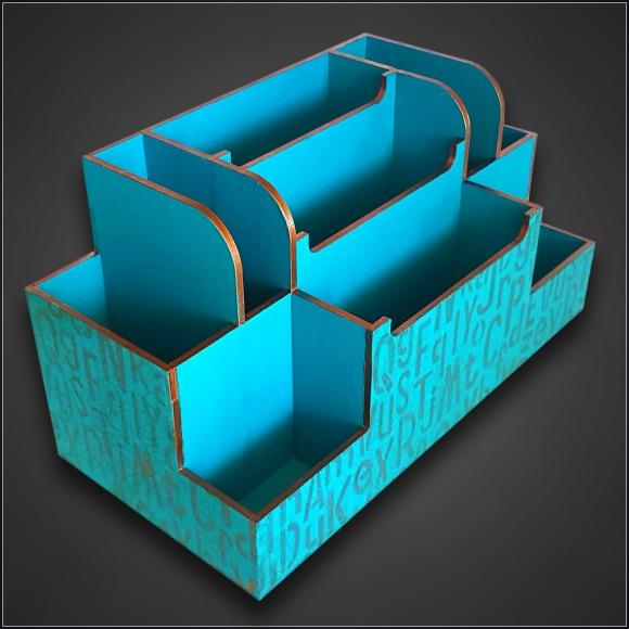 Desk Caddy MDF Kit 2