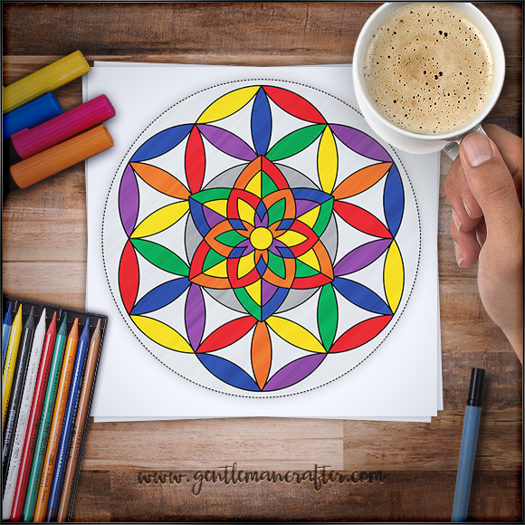 Mandala Monday 64 Free Download To Colour In (1)