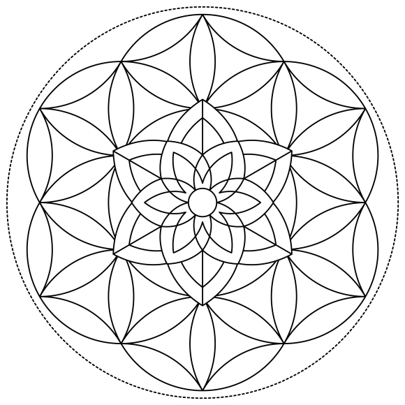 Mandala Monday 64 Free Download To Colour In (2)