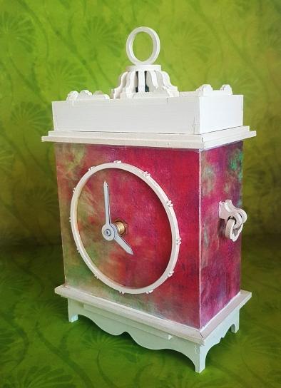 Mantle Clock MDF Kit (1)