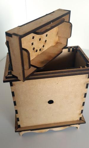Mantle Clock MDF Kit (13)