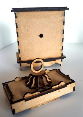 Mantle Clock MDF Kit (15)