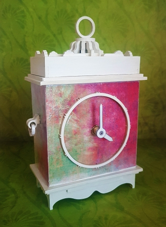 Mantle Clock MDF Kit (21)