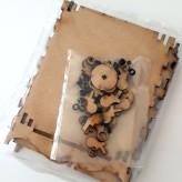 Mantle Clock MDF Kit (7)